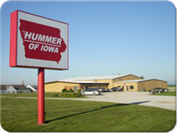 Photo of the Main Hummer of Iowa Office